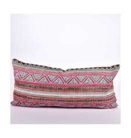 rug & weave Vintage Hmong Batik Pillow Cover
