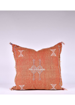 rug & weave Rust Sabra Silk Pillow