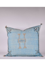 rug & weave Turquoise Sabra Silk Pillow
