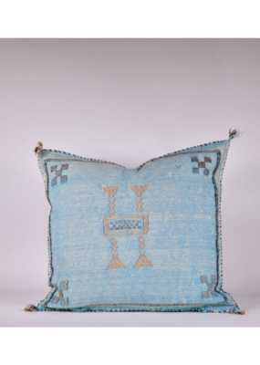 rug & weave Turquoise Sabra Silk Pillow