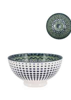 Kiri Bowl, Small, Green Mandala