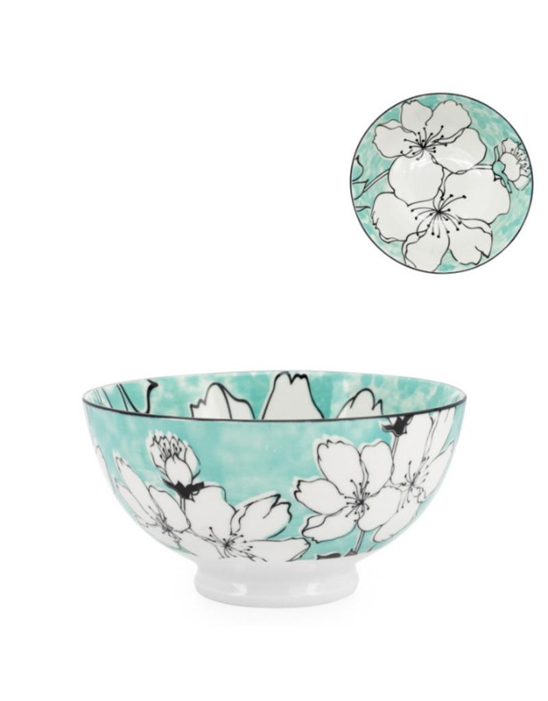 Kiri Porcelain Bowl, Medium, Sakura Bloom