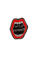 Patch Pin Wild Feminist