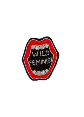 Patch Pin Wild Feminist