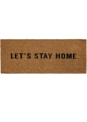 Let's Stay Home Doormat