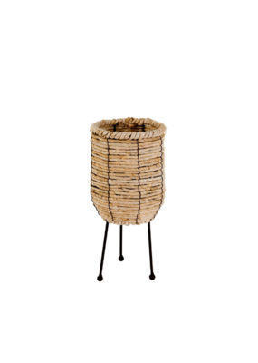 Nala Tripod Basket Planter Small