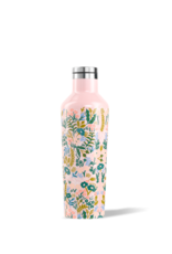 Corkcicle Corkcicle Rifle Paper 16oz Canteen, Tapestry, Pink