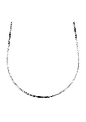 PILGRIM Pilgrim Chains Silver Plated 80cm