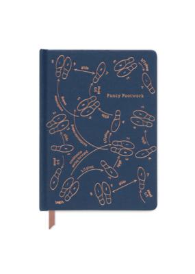 Navy Fancy Footwork Book