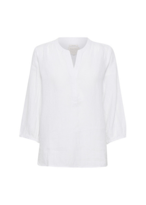 Part Two PART TWO Lydia Linen Blouse Bright White