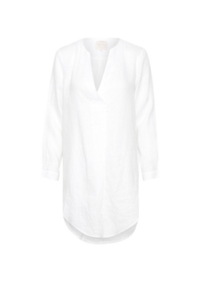 Part Two PART TWO Linen Tunic Callasa Bright White
