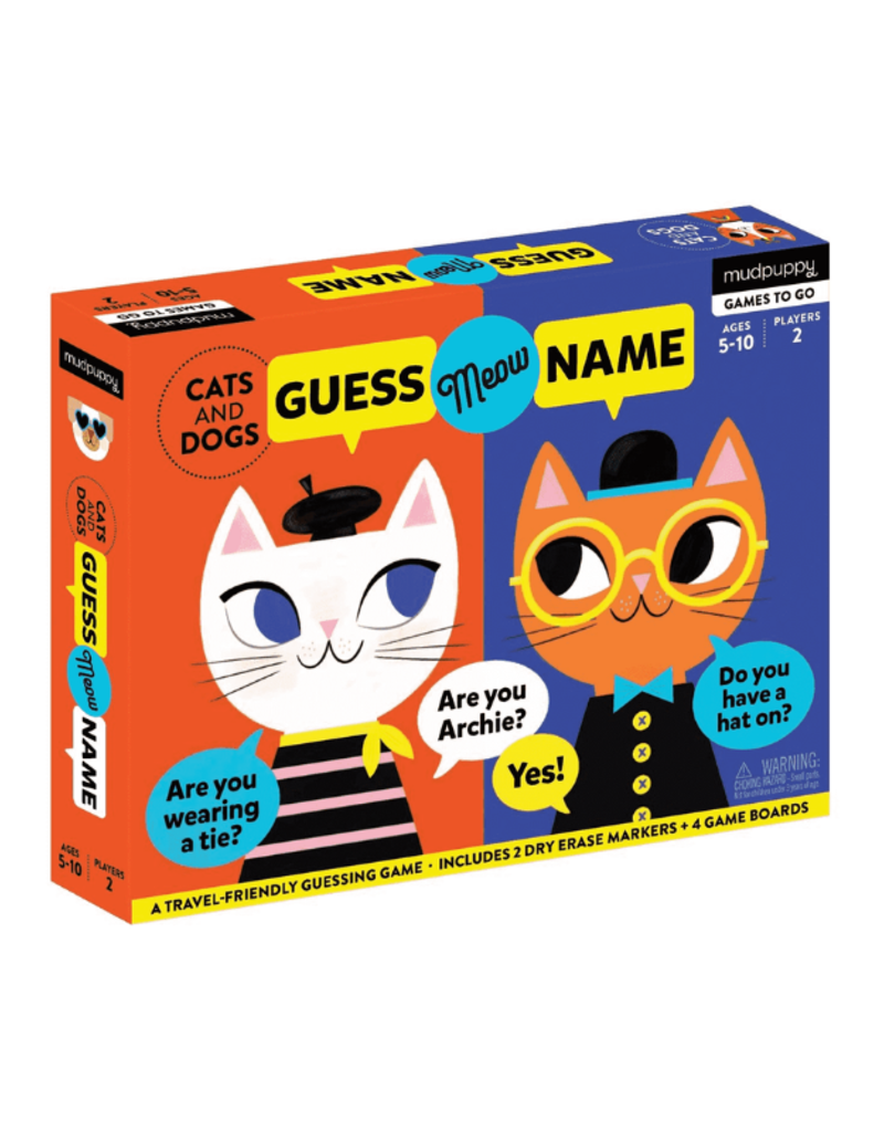 Cats & Dogs Guess Meow Name
