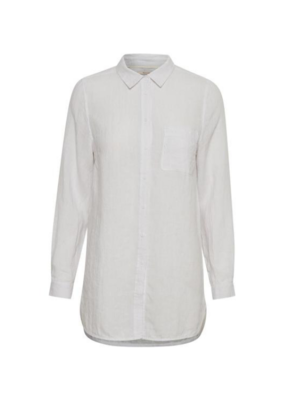 Part Two PART TWO Kiva Linen Shirt Bright White