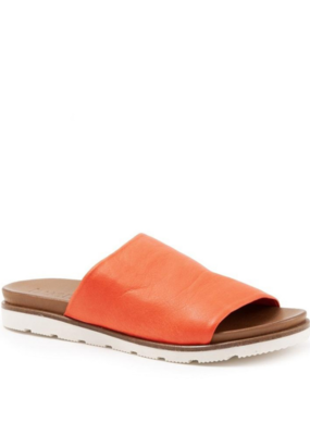"Bueno Bueno ""Yuzu"" Slide in  Leather Sunset"