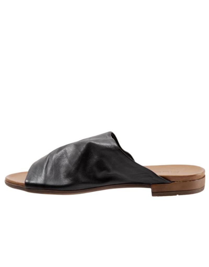 "Bueno Bueno ""Turner"" Slide in Black Leather"