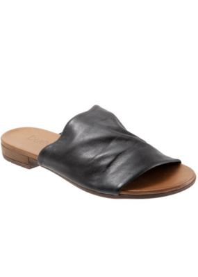 Bueno bueno Turner Slide in Black Leather