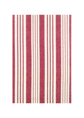 Dash & Albert Dash & Albert Birmingham Red Cotton Rug