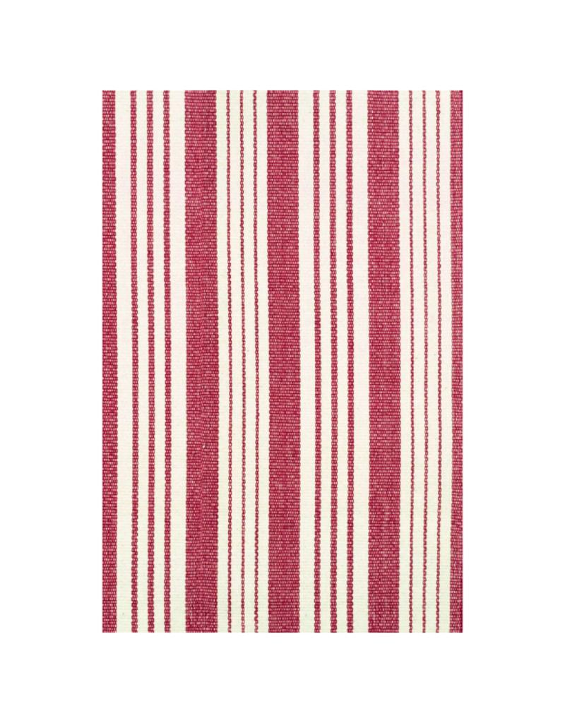 Dash & Albert Dash & Albert Birmingham Red Cotton Rug