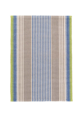 Dash & Albert DASH  Cotton Rug 2x3 York Stripe