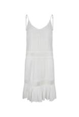 ESQUALO  Beach Dress Off White