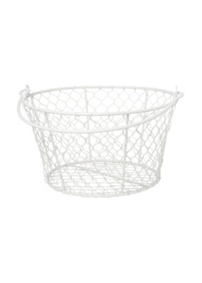 Basket Homestead White