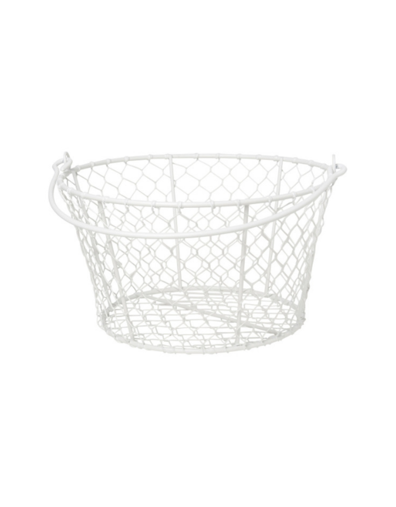 Basket Homestead White