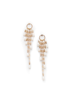 Lover's Tempo LT Cascade Drop Earrings, White