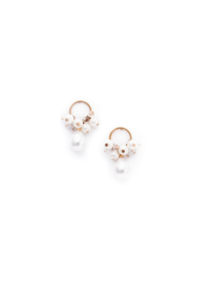 Lover's Tempo LT Contessa Pearl Drop Earrings, Pearl