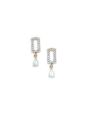 Lover's Tempo LT Holiday Earrings Met Drop Clear