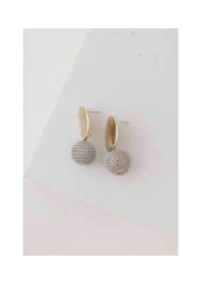 Lover's Tempo LT Earrings Amos Drop White