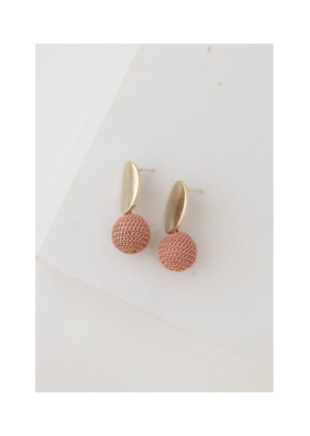 Lover's Tempo LT Earrings Amos Drop Pink