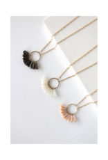Lover's Tempo Confetti Necklace in White by Lover's Tempo