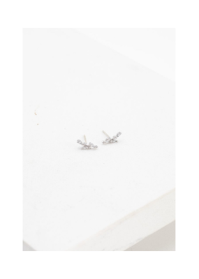 Lover's Tempo LT Olive Climber Earrings  Silver