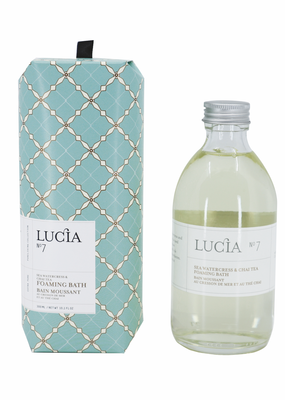 LUCIA Foaming Bath 300ml Watercress & Chai Tea