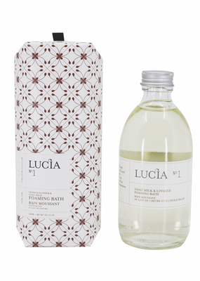 LUCIA Foaming Bath 300ml Goat's Milk & Linseed