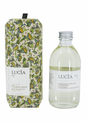 LUCIA Foaming Bath 300ml Olive Blossom & Laurel