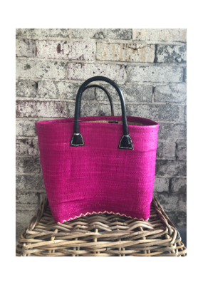 Small Market Bag Solid Pink
