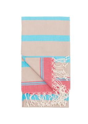 Sello Turkish Body Towel - Taupe