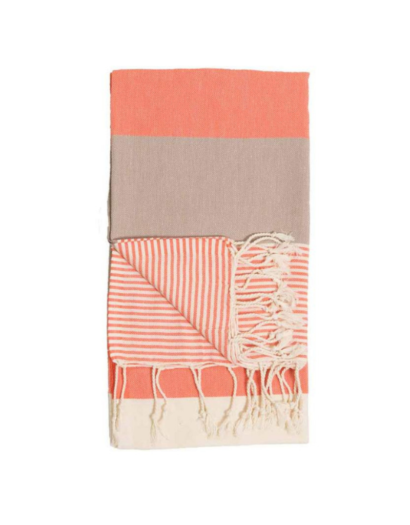 Hawaii Turkish Body Towel Peach