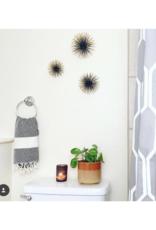 Diamond Turkish Hand Towel - Carbon