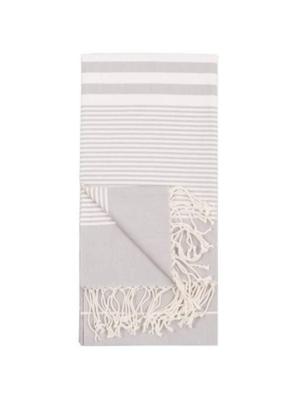 Pokoloko Harem Turkish Body Towel - Silver