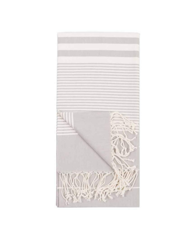 Harem Turkish Body Towel - Silver