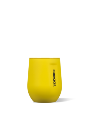 Corkcicle Corkcicle Stemless Cup Neon Yellow 12oz