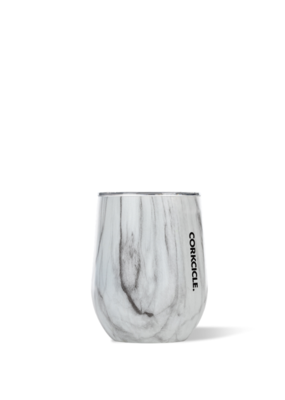 Corkcicle Corkcicle Snowdrift Wood Stemless 12oz.