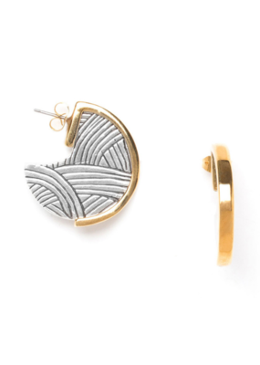 ORI TAO Graff Small Creole Earring