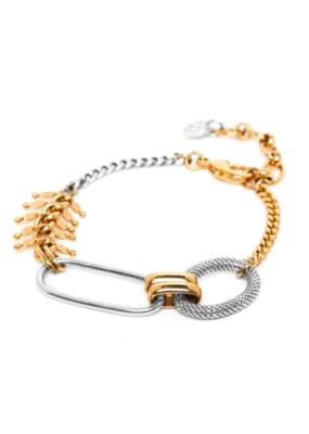 ORI TAO Mailles & Chaines 3 Element Bracelet