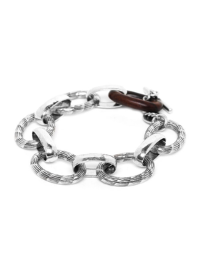 ORI TAO Mailles & Chaines Oval Ebony Bracelet
