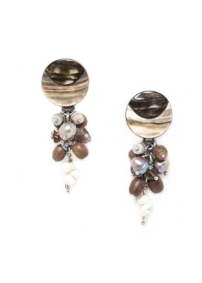 NATURE Fifty Shades Grape Earring