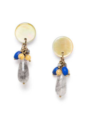 NATURE Blue Tribe Small Drop Earrings