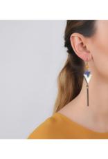 NATURE Blue Tribe Tassel Earrings